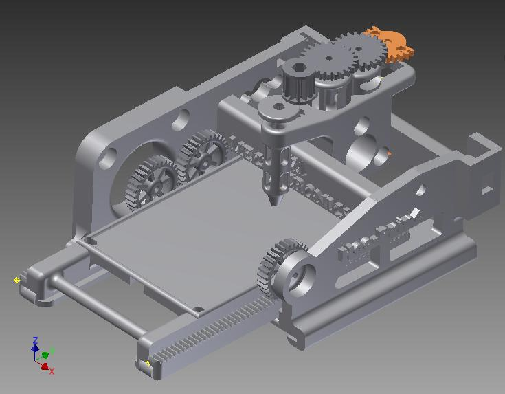 HooPrint CAD Assembly